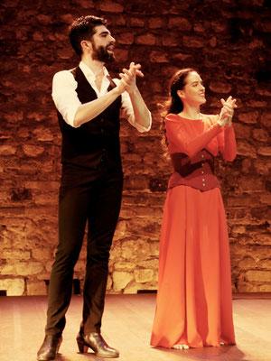 Danseurs : Gabriela Abaitua & Ruben Molina / Spectacle : Nuit Flamenco