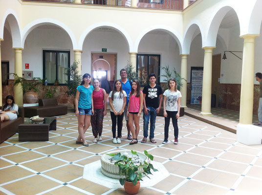 mit Studenten int Presjovem Andalusia