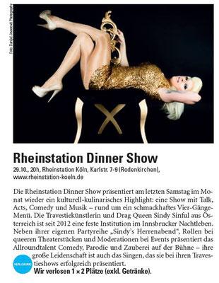 Kölner Illustrierte 06.10.2016