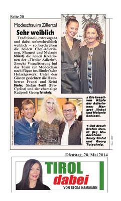 Tiroler Krone 20.05.2014