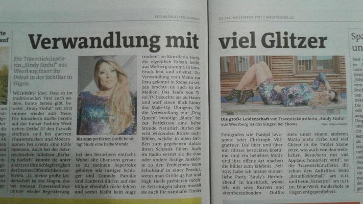 Bezirksblätter Schwaz 17.11.2017