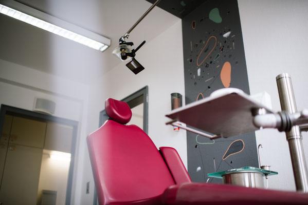 Behandlungszimmer Dres. Sachse | Kieferorthopäden Kassel