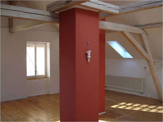Rotes Dachzimmer
