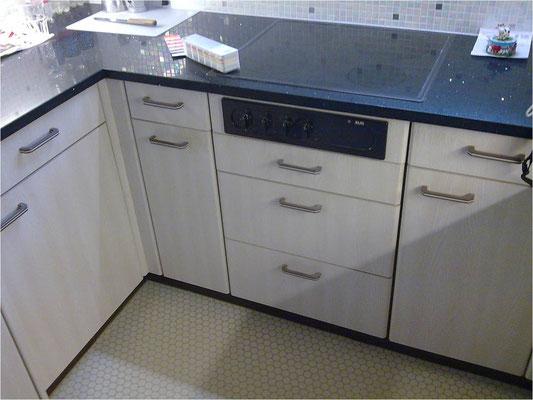 Küchenumbau - vorher