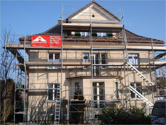 Fassaden Renovation in Aarau