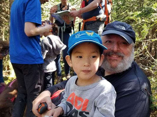 Cong Jiu Antoine avec Pierre