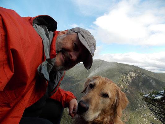 Pierre Leduc et son chien Dusty