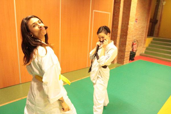 Aude et Pauline Saint Sernin Karate Toulouse