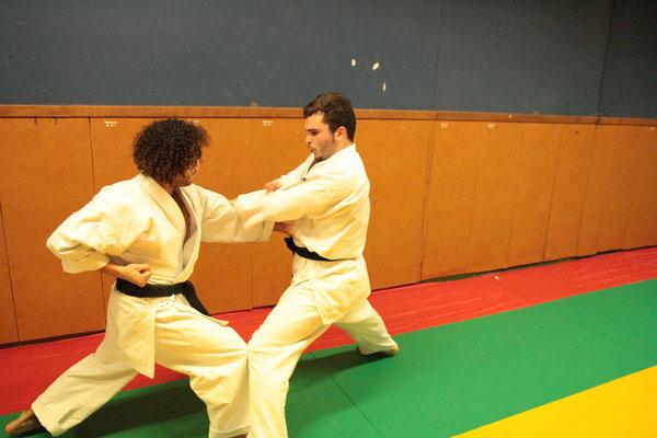 Antonin et Imaïl Saint Sernin Karate Toulouse