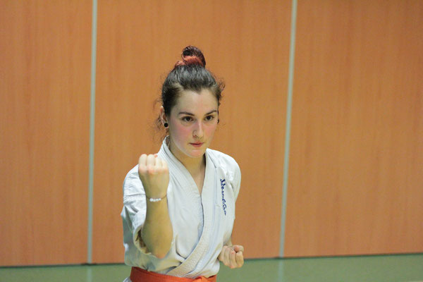 Magali Saint Sernin Karate Toulouse