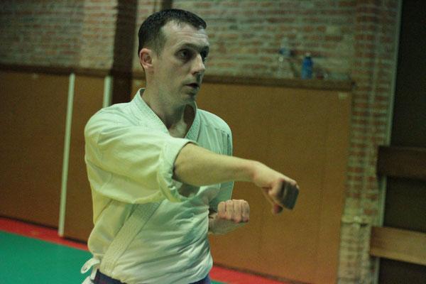 Antoine Saint Sernin Karate Toulouse