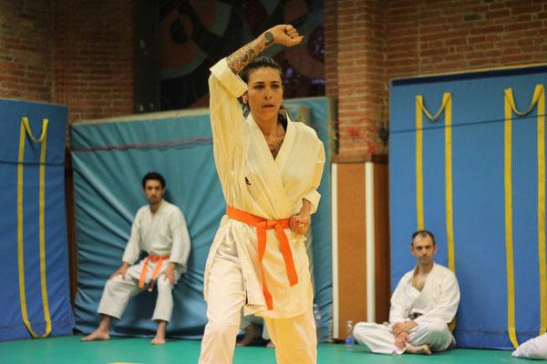 Aude Saint Sernin Karate Toulouse