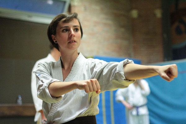 Pauline Saint Sernin Karate Toulouse