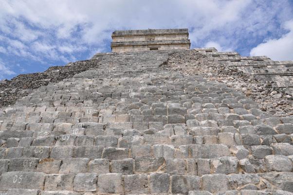 ChichChichen Itza Mexiko Maya Pyramidenen Itza Mexiko Maya Pyramiden