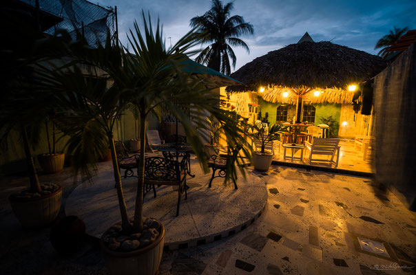 Inner courtyard of our Casa