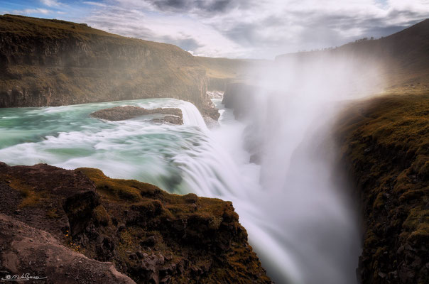 """The Mighty One"" - Gulfoss, South-Iceland"