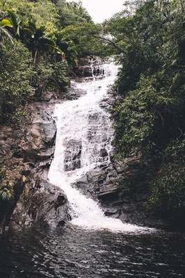Sauzier waterfall