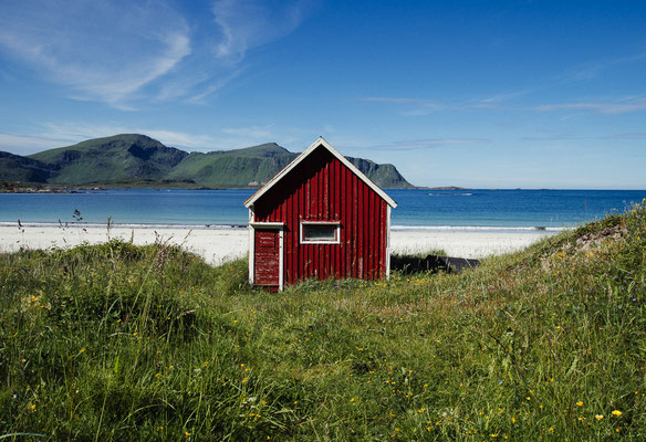 Nice hut in Ramberg