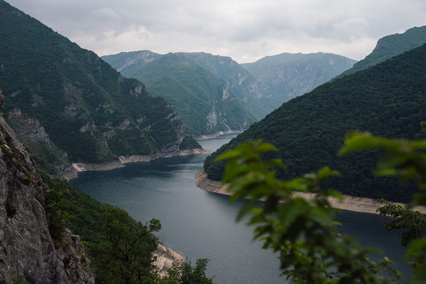 "Barrier lake ""Pivsko Jezero"""
