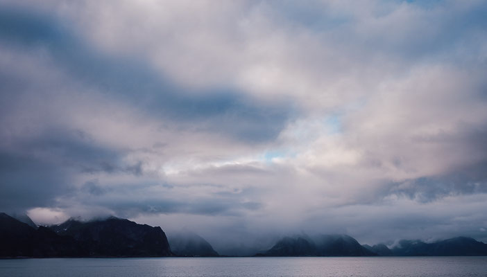 Gloomy ridges of the lofoten