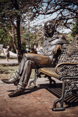 John Lennon Park, Mirama, La Habana
