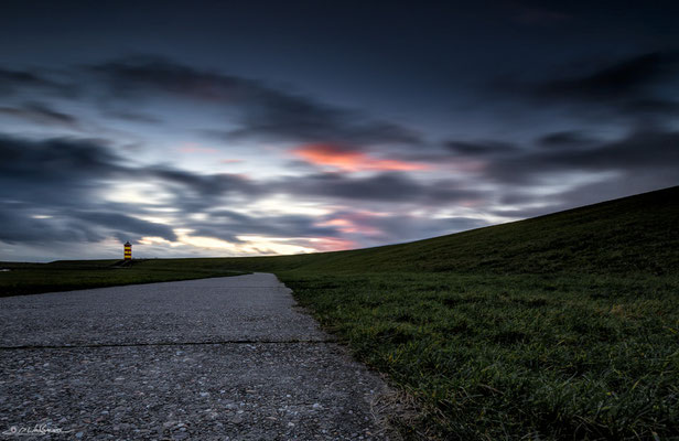 """Lonesome Watcher"" - Ligthouse Pilsum, Lower Saxony, Germany"