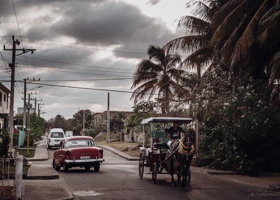 Typical Varadero Street Scene