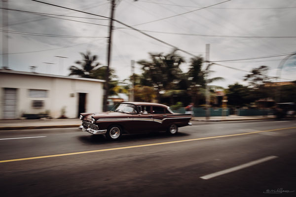 Especially in Varadero the old cars are still in a respectable condition.