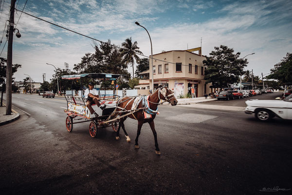 Still a common sight on cuban streets. Not just for tourist entertainment.
