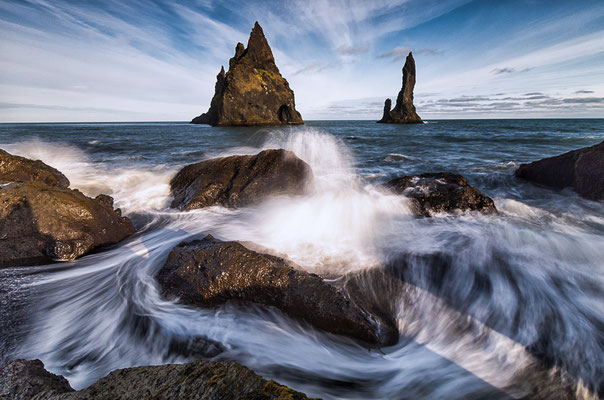 Reynisdranga Sea Stacks