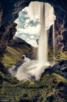 """Into the Wild"" - Kvernufoss, South-Iceland"