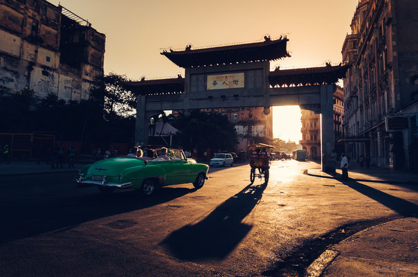 Gate to China Town, Habana Cuba