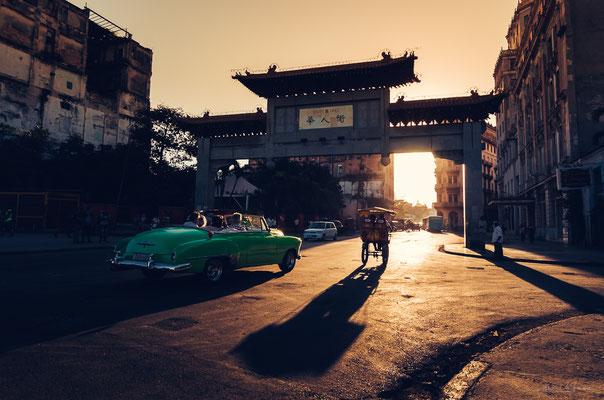 Gate to China Town, Habana Cuba