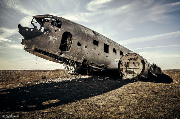 Plane Wreck - South Iceland