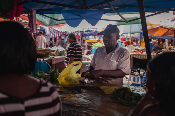Morning market Mahé