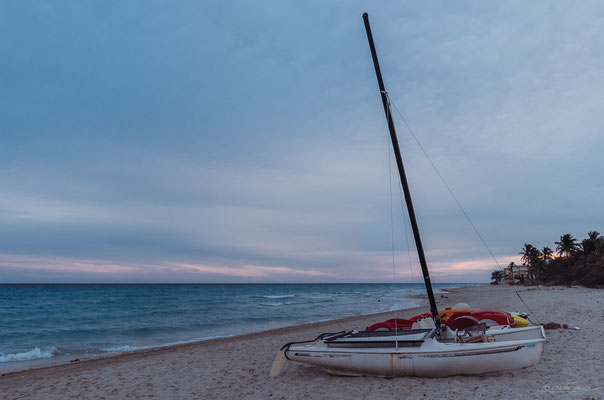 Varadero beach in the morning hours.