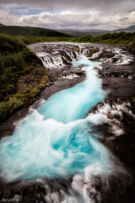 """Source of all life"" - Bruarfoss, South-Iceland"