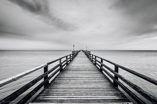 Lonely Pier - Baltic Sea, Prerow, Germany