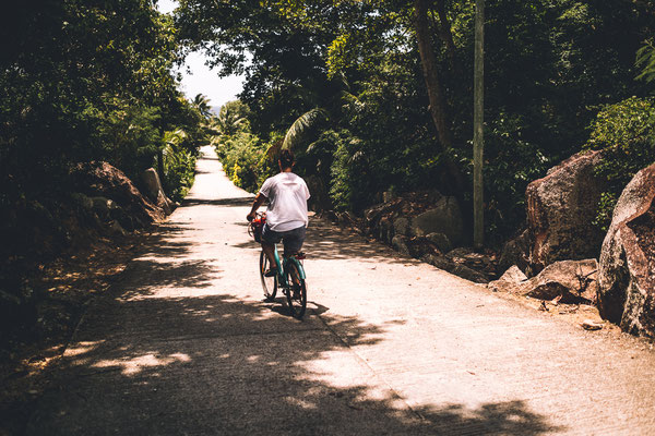 Cycling La Digue