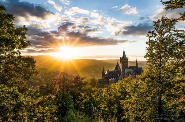 """Fairytale castle"" - Wernigerode Castle, Saxony-Anhalt, Germany"