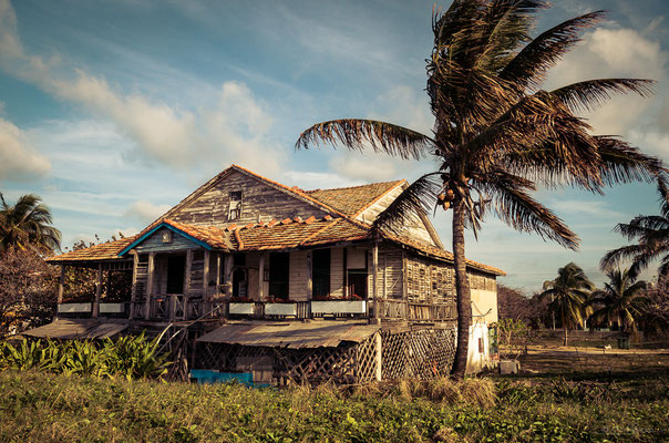Even in Varadero you'll find houses whose building fabric leaves much to be desired.