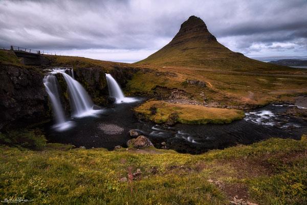 """Triplets"" - Kirkjufellfoss, Snæfellsnes Peninsula, Iceland"