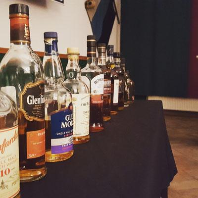 Whiskyverkostung mit AH Weste
