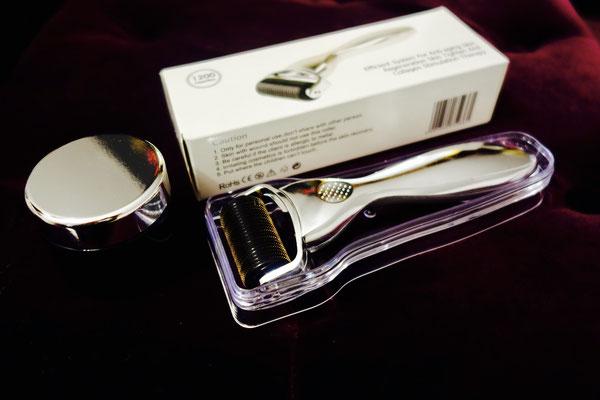 Silver Dermaroller body inkl Serum
