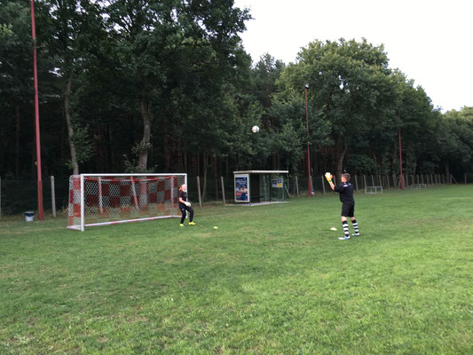 Torfrau Training mit G