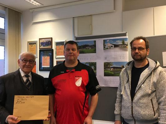 Herr Dr. med. Adari Ralf Lührs und Frank Tischler