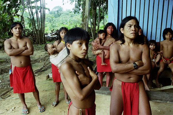 Bundesstaat  Amapá,  Indigene vom Volk der Waiapi.