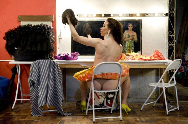 Rio de Janeiro, In der Garderobe des ältesten noch existierenden Schwulenclubs der Welt, der Turma OK