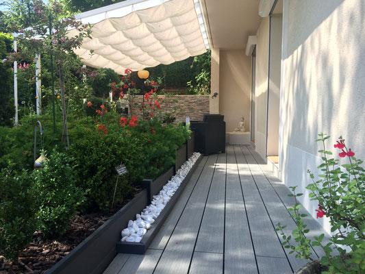 L'accès privé à la chambre d'hôtes Zen (Villa Victoria Chambres d'hôtes en Auvergne)