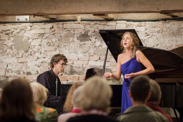 Alianzsaal des Klosters Benediktbeuern Sommerkonzert 2013